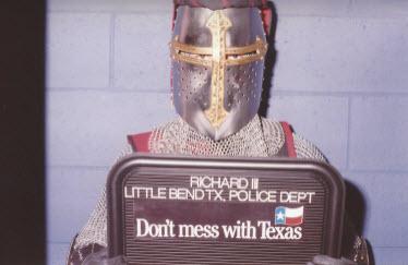 Richard III Booking Mugshot 2
