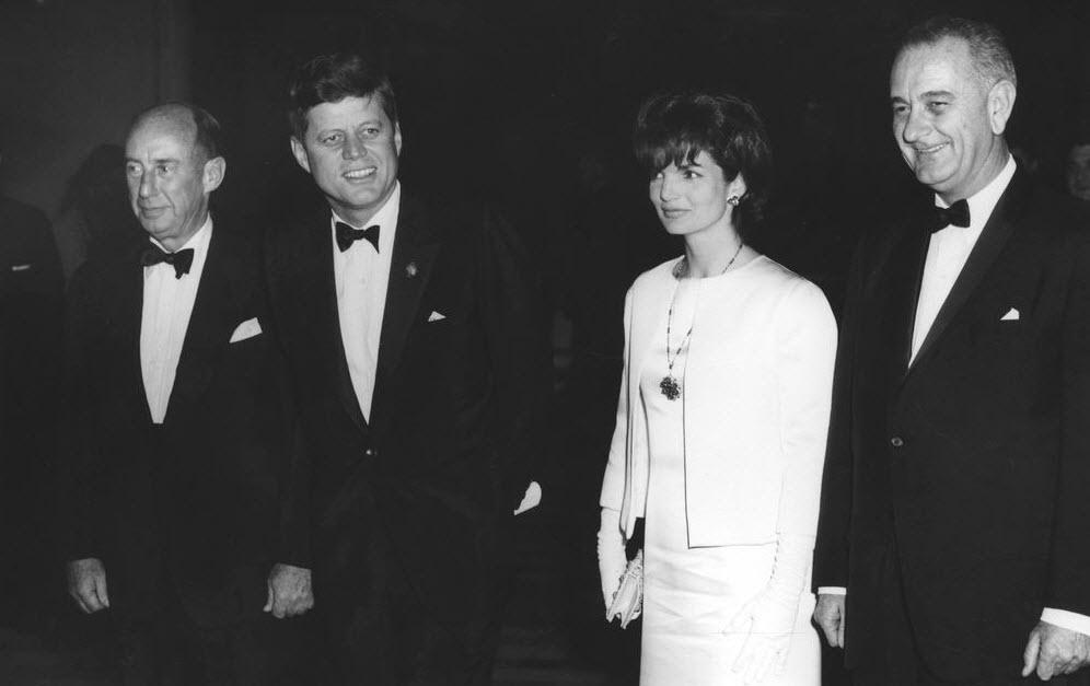 The Kennedys, Johnson and Stevenson