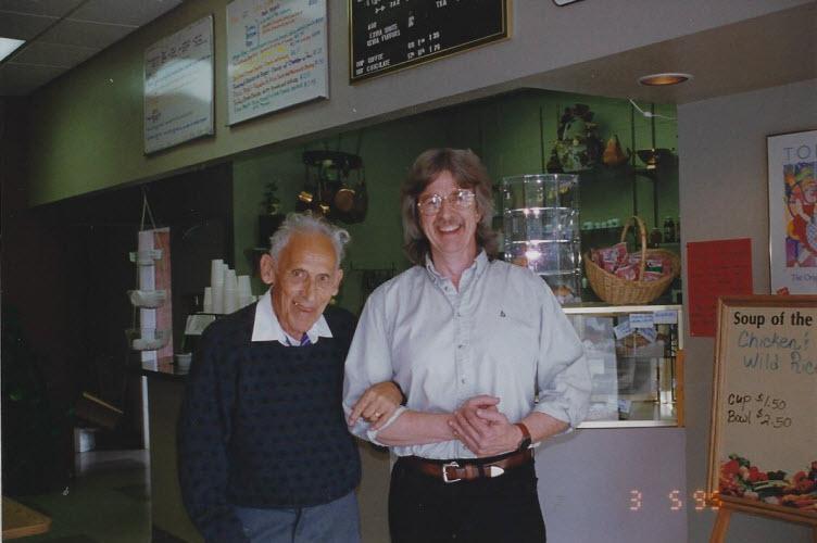 Sperry Hunt and Dr Hans Lehmann Seattle 1995 sm