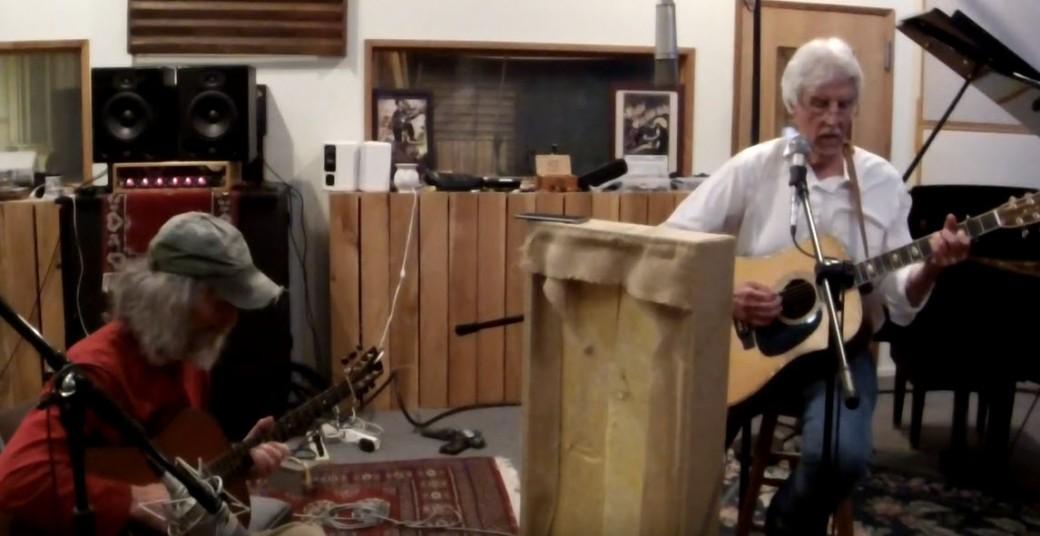 Sperry Hunt and Joe Breskin at Rainshadow Recording 2